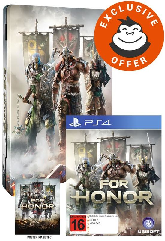For Honor Limited Edition for PS4
