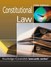 Constitutional Lawcards by Routledge image