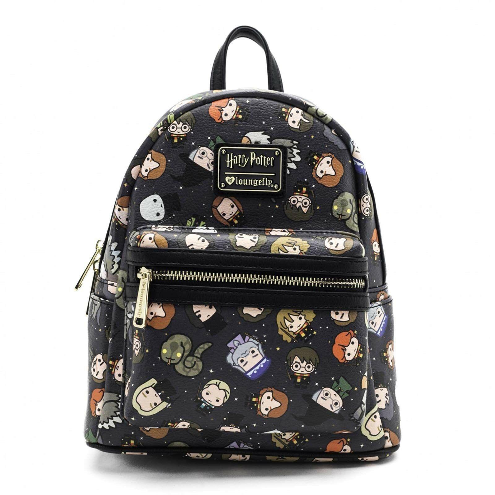 Loungefly  Harry Potter - Chibi Print Mini-Backpack image ... 375fc5642da57
