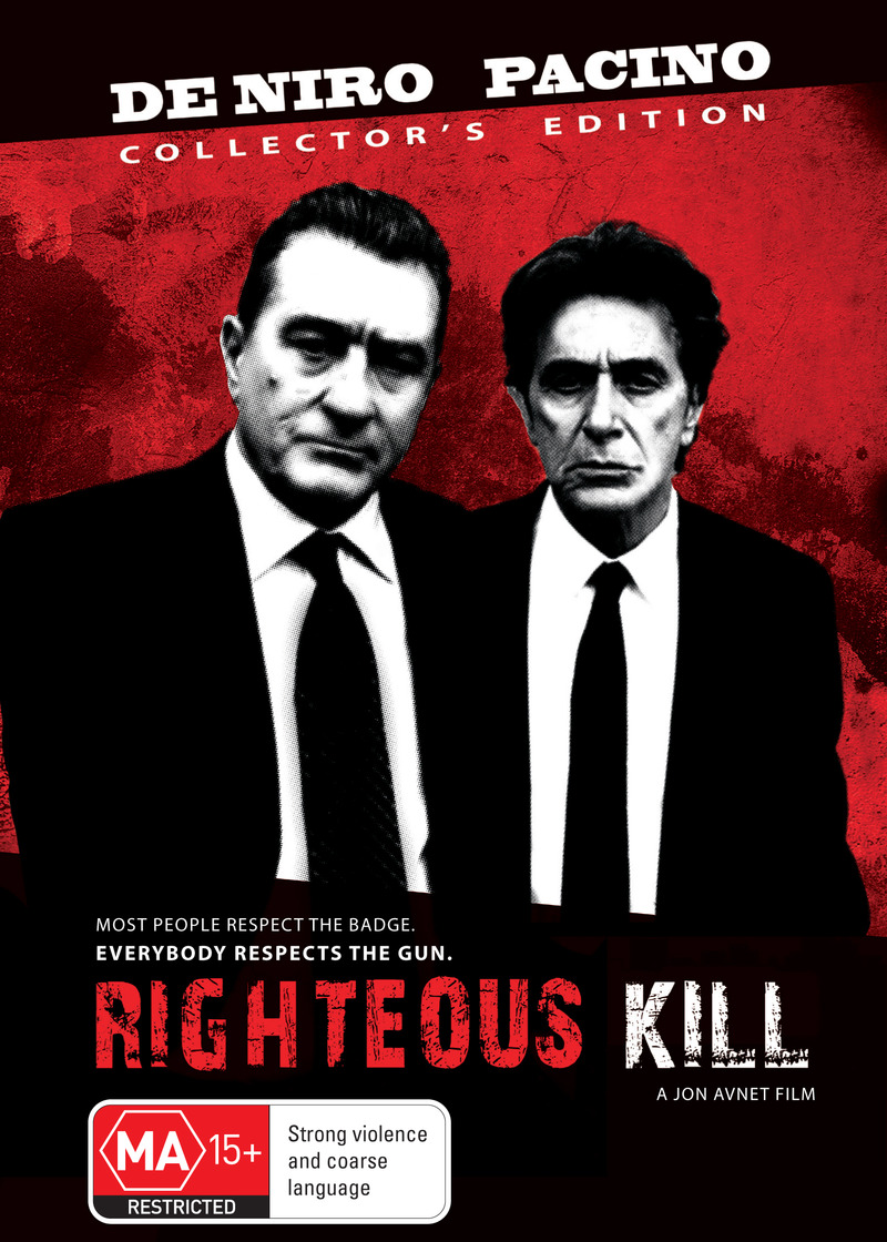 Righteous Kill on DVD image