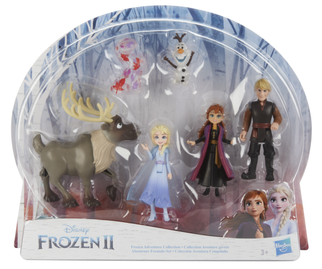 Frozen II: Adventure Collection - Doll 5-Pack