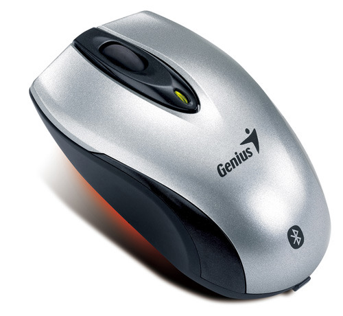 Genius Wireless Mini Navigator Mouse Silver/Black image