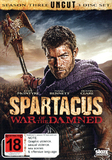 Spartacus: War of the Damned on DVD