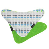 Mum 2 Mum Fashion Bandana Wonder Bib (Elephants/Lime)