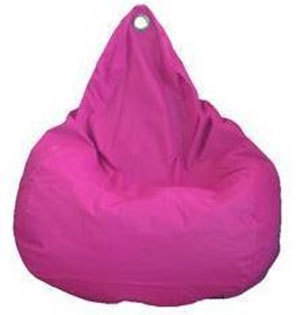 Beanz Big Bean Indoor/Outdoor Bean Bag Cover - Hot Pink