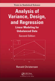 Analysis of Variance, Design, and Regression by Ronald Christensen