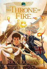Kane Chronicles, The, Book Two the Throne of Fire: The Graphic Novel by Orpheus Collar