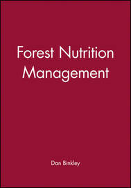Forest Nutrition Management by Dan Binkley image