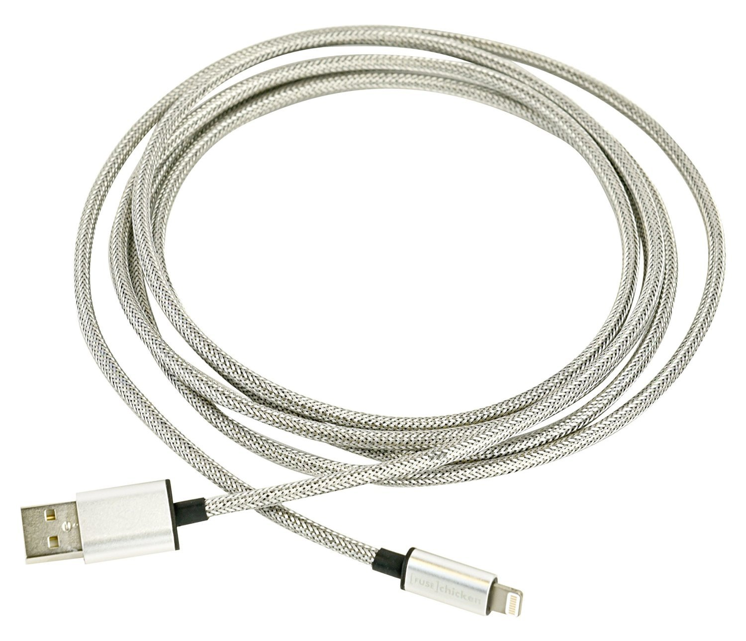 [FUSE] chicken ARMOUR CHARGE Stainless Steel iPhone Lightning Cable (2M) image