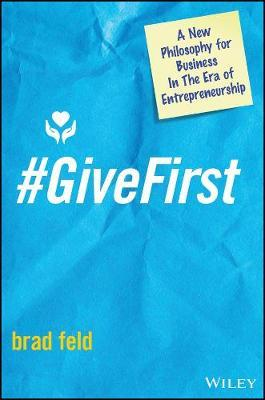 #GiveFirst by Brad Feld image