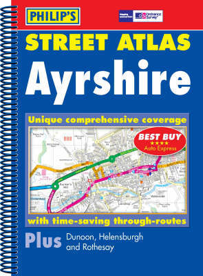 Philip's Street Atlas Ayrshire