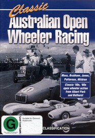 Classic Australian Open Wheeler Racing on DVD image