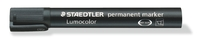 Staedtler: Lumocolor Permanent Chisel Tip Marker - Black