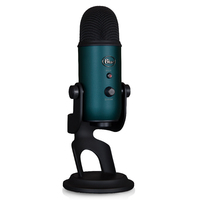 Blue Microphones Yeti Multi-Pattern USB Microphone (Black & Teal) for