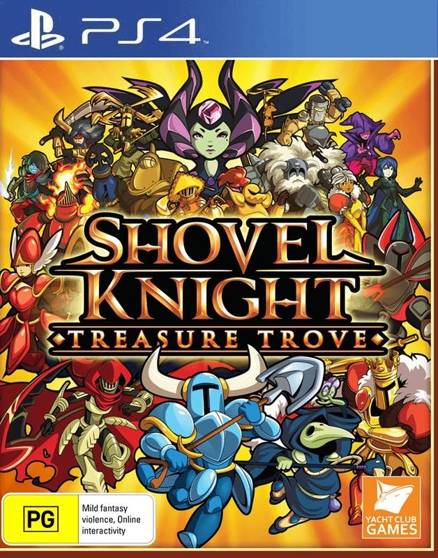 Shovel Knight: Treasure Trove for PS4