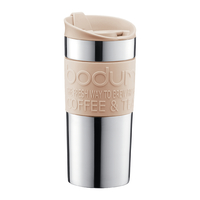 Stainless Steel Double Wall Travel Mug - Pebble (350ml)