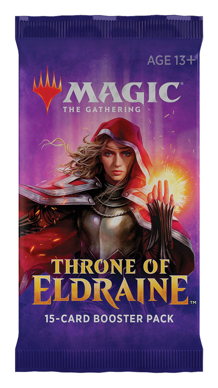 Magic The Gathering: Throne of Eldraine Single Booster