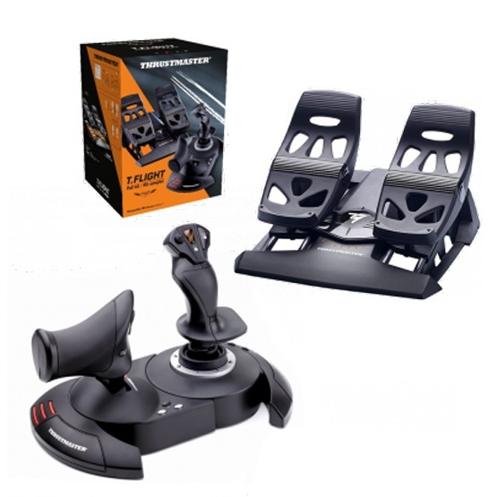 Thrustmaster T-Flight Hotas X + TFRP Rudder Bundle (PC & PS3) for PC