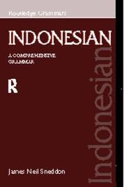 Indonesian: A Comprehensive Grammar by James Neil Sneddon image