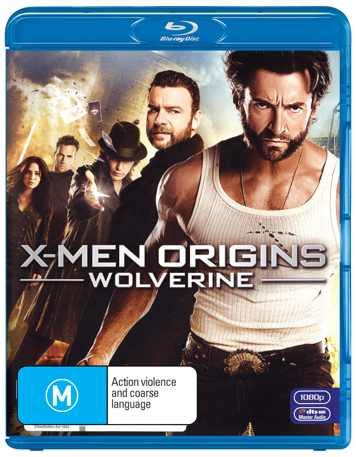 X-Men Origins: Wolverine on Blu-ray image