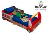 KidKraft - Fire Truck Toddler Bed
