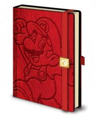 Super Mario Premium A5 Notebook - Mario