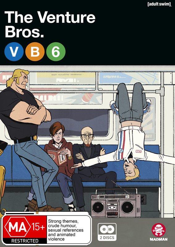 The Venture Bros. Season 6 Collection on DVD