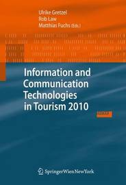 Information and Communication Technologies in Tourism 2010 image