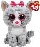 Ty: Beanie Boo Kiki Cat (Medium)