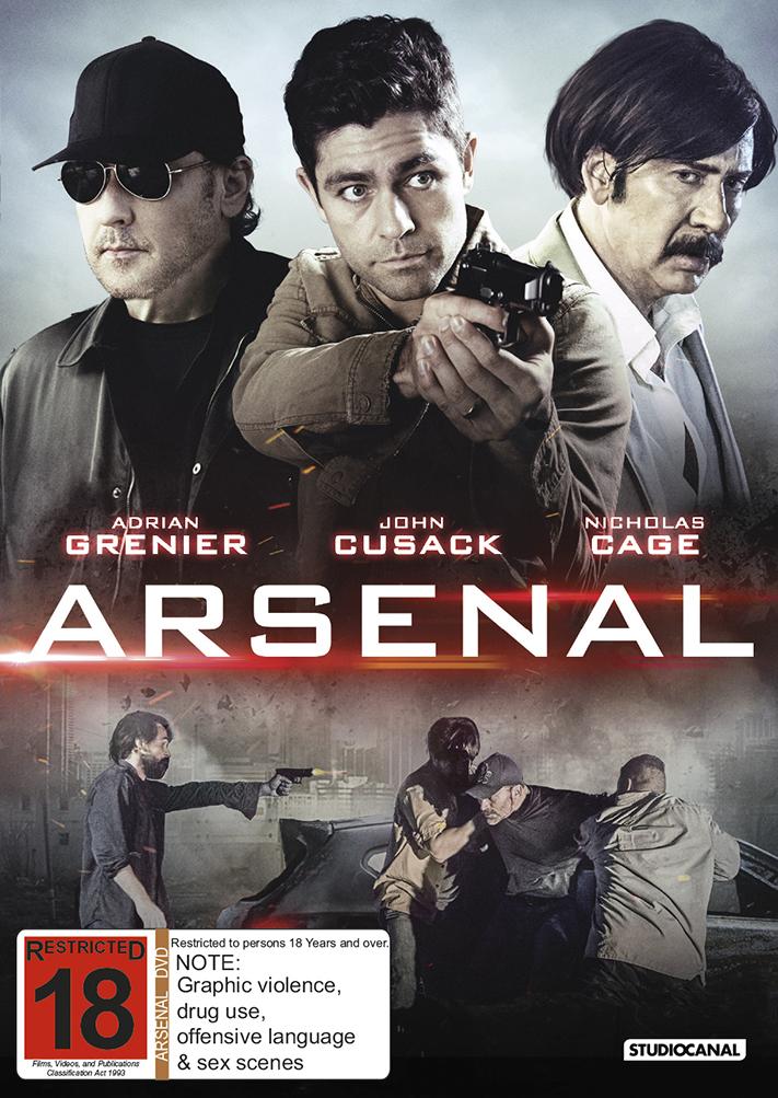 Arsenal on DVD image
