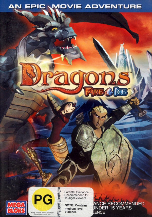 Dragons - Fire And Ice on DVD image