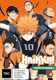 Haikyu!! Complete - Season 1 (Dual Language Edition) on
