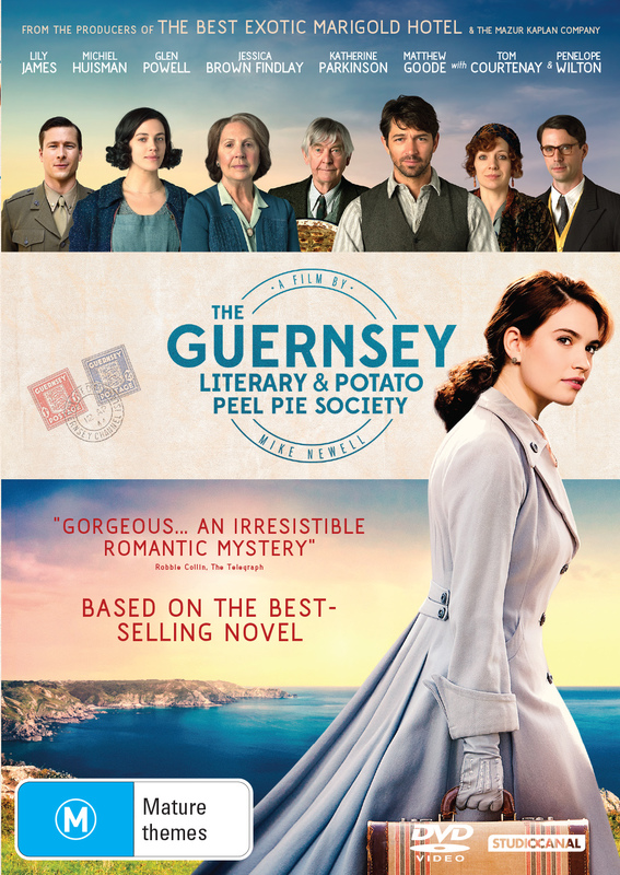 The Guernsey Literary And Potato Peel Society on DVD