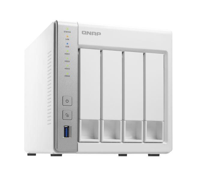 Qnap Ts-431P2-4G 4-Bay Nas (No Disk), Al314 Quad Core 1.7Ghz, 4Gb, Sata 6Gb/S, 2X Gbe Lan, 3 X Usb3.0, Hdd Hot-Swap image
