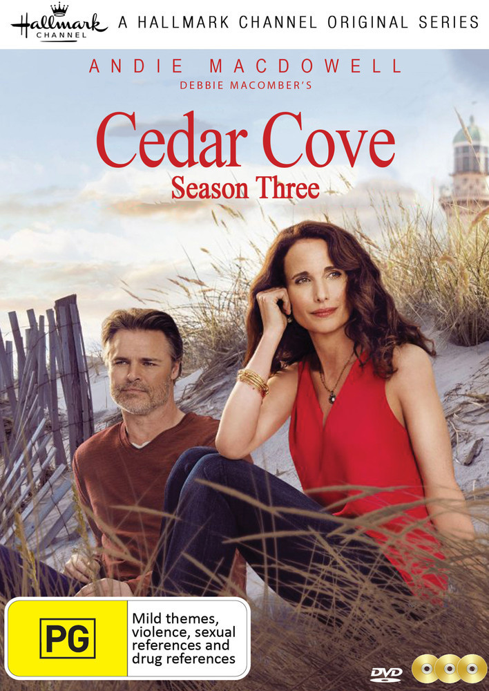 Cedar Cove: Season Three on DVD image