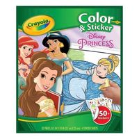 Crayola: Colour & Sticker Activity Book - Disney Princess