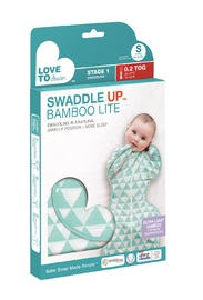 Love to Dream: Swaddle Up Bamboo 0.2Tog - Ocean (Large)