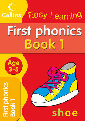 First Phonics: Age 3-5 by Collins Easy Learning image