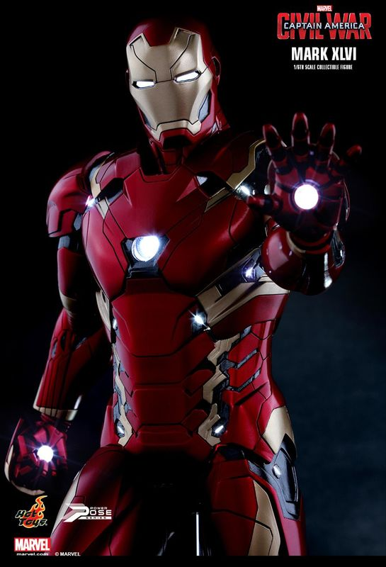 Captain America: Civil War - Iron Man Mark XLVI 1:6 Scale Figure