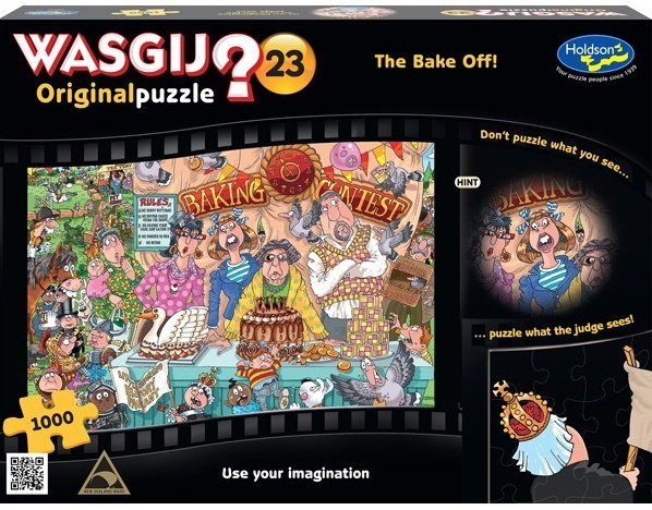 Wasgij: Original - The Bake Off 1000pce Puzzle image