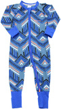 Bonds Zip Wondersuit Long Sleeve - Surf Tribe (6-12 Months)