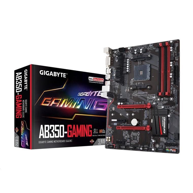 Gigabyte GA-AB350-Gaming ATX For AMD Ryzen Motherboard image