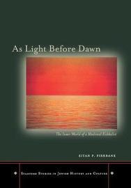 As Light Before Dawn by Eitan P. Fishbane