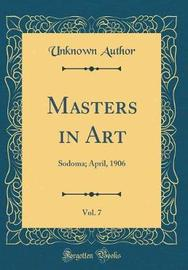 Masters in Art, Vol. 7 by Unknown Author image