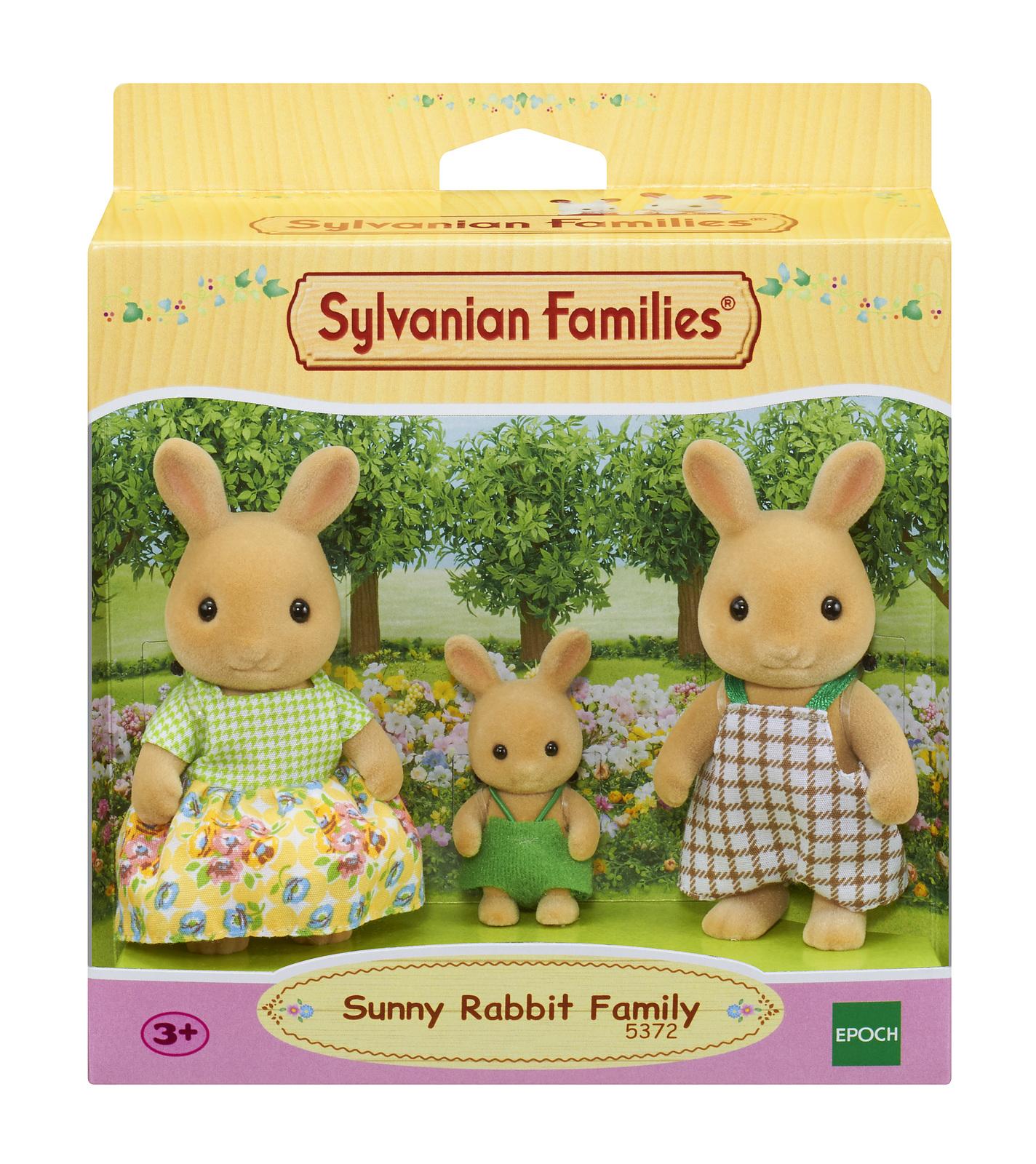 Sylvanian Families - Sunny Rabbit Family (3-Pack) image