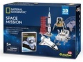 Cubic Fun: National Geographic 3D Model Puzzle - NASA Space Mission (USA)