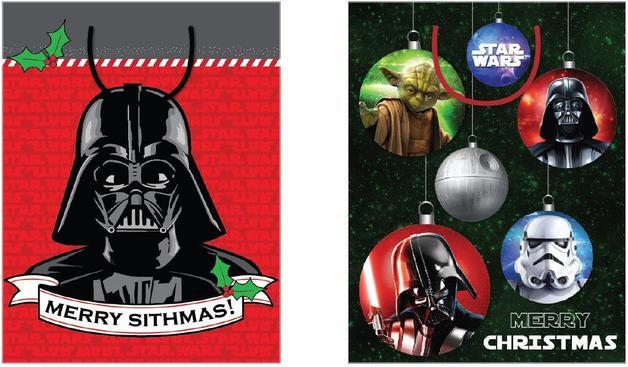 Christmas Gift Bags Australia.Buy Star Wars Christmas Gift Bag Medium At Mighty Ape