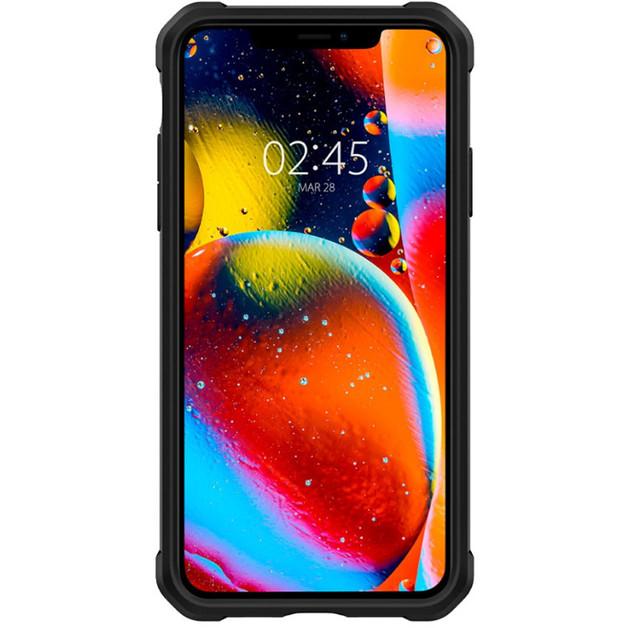 Spigen: iPhone 11 Gauntlet Carbon - Black
