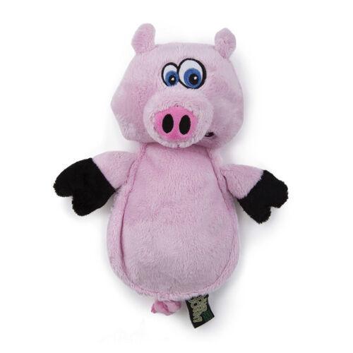 Worldwise: Hear Doggy! Flatties Pig w/Chew Guard