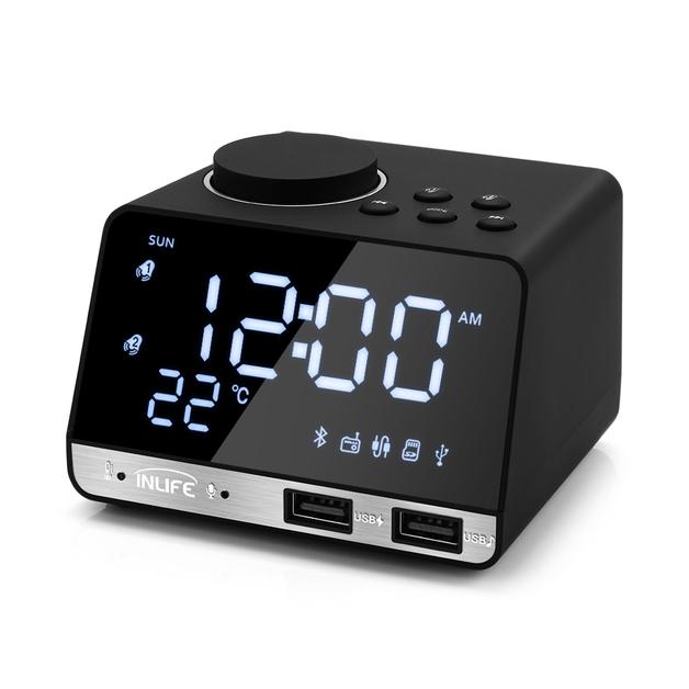 Ape Basics: LED Display Dual Alarm Clock
